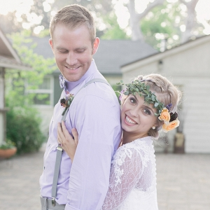romantic lavender wedding inspiration from Carrie Vines Photography from Glamour & Grace