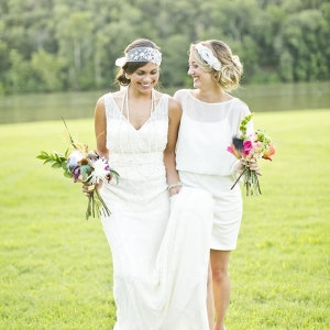 modern art deco wedding inspiration by Mary Fields Photography on Glamour & Grace
