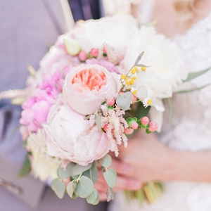 romantic modern wedding by Sara Lynn Photographic on Glamour & Grace