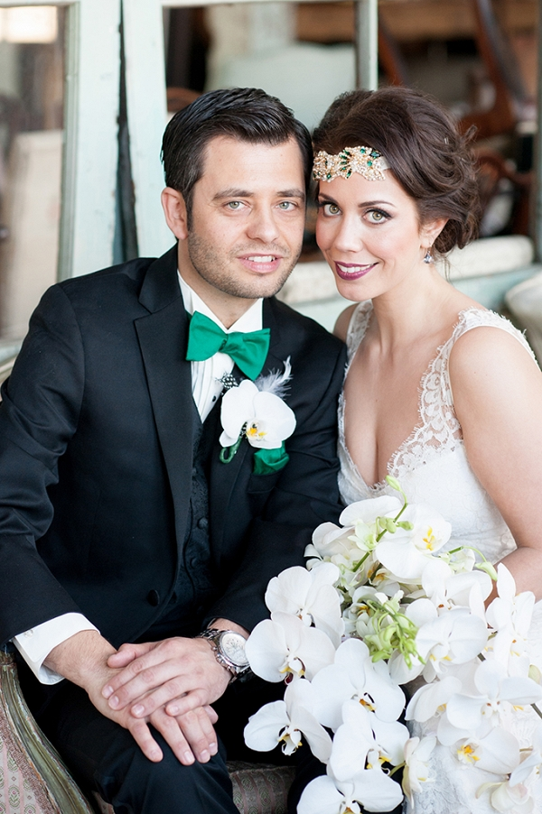 New York art deco wedding by Mikkel Paige Photography on Glamour & Grace