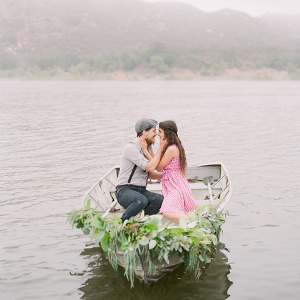 The Notebook inspired engagement session