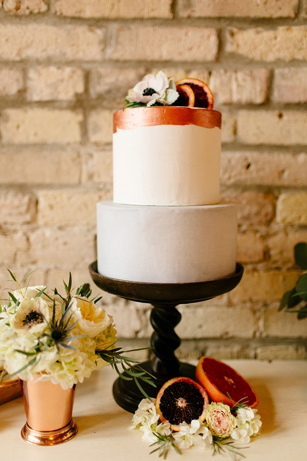 organic citrus wedding inspiration from Leah Fontaine Photography on Glamour & Grace