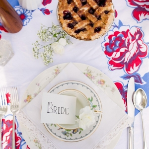 retro summer wedding by Christy McKee Photography on Glamour & Grace