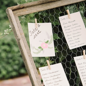 romantic forest wedding by Courtney Stockton Photography on Glamour & Grace