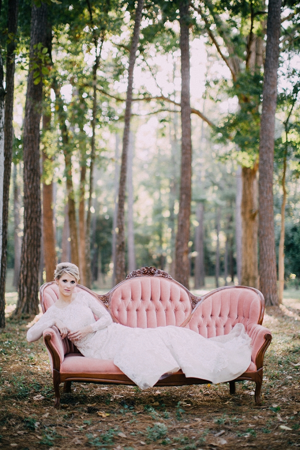 romantic glam bridal portraits by Endless Exposures Photography on Glamour & Grace