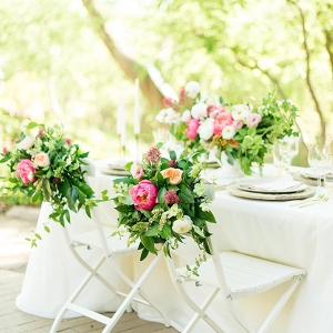romantic peony wedding inspiration from Lori Lynn Photography on Glamour & Grace