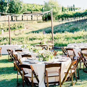 Outdoor reception