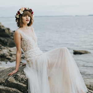 seaside bridals by Rachel Birkhofer on Glamour & Grace