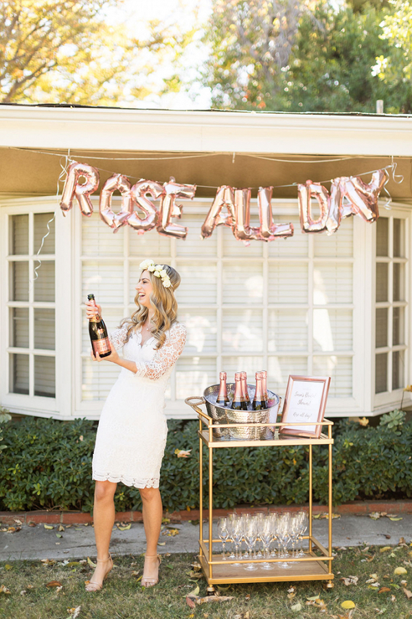 Rose all day bridal shower