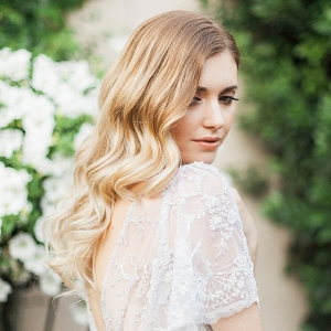 timeless and romantic bridal portraits by Stefanie Marie Photo on Glamour & Grace