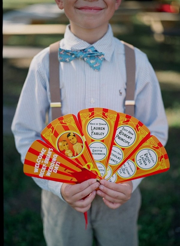 vintage circus wedding by Esther Louise Photography on Glamour & Grace