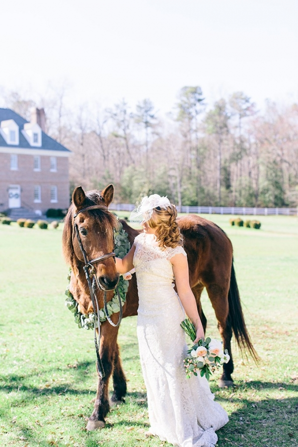 vintage Derby wedding inspiration by Shalese Danielle Photography on Glamour & Grace