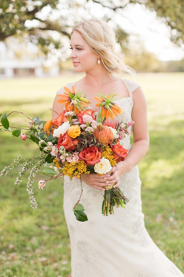 vintage farm wedding inspiration by Meggie Taylor on Glamour & Grace