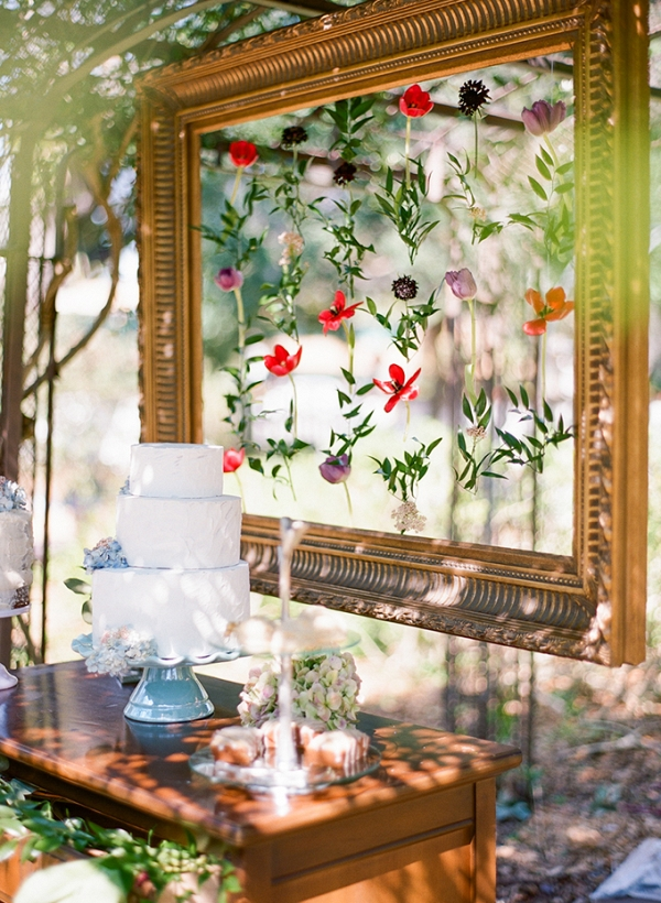 Florida vintage garden wedding inspiration by Emily Katharine Photography on Glamour & Grace