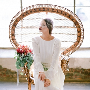 vintage bridal style from White Rabbit Studios on Glamour & Grace