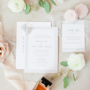 Simple and elegant invitation suite