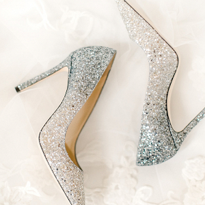 Glittery Jimmy Choo Pumps