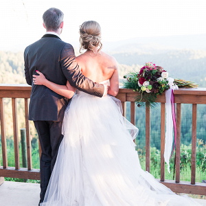 Mountain Winery Wedding Overlooking the Coast