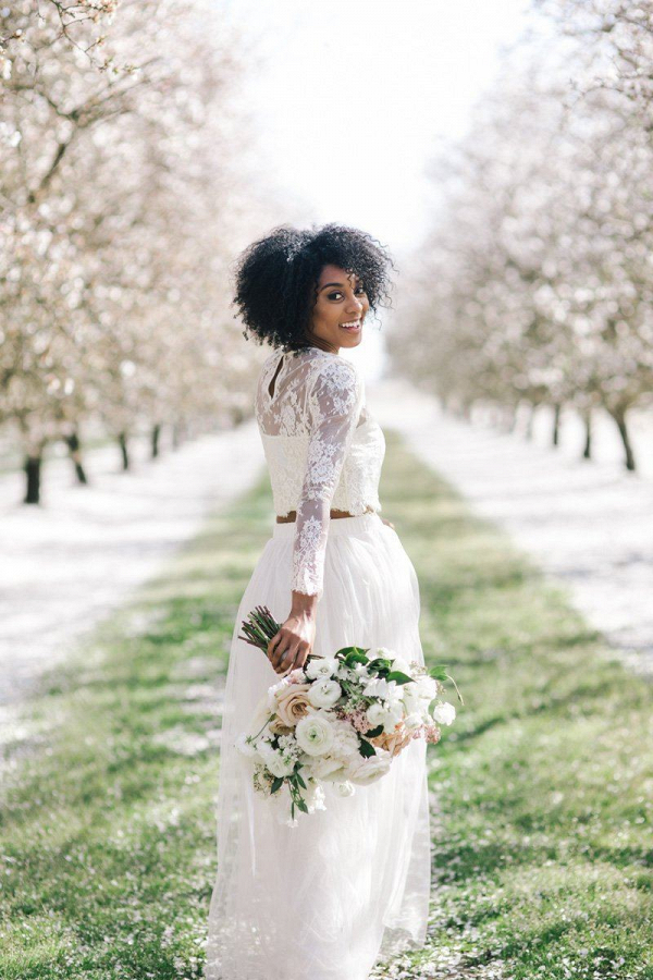Tulle and Lace Bridal Separates