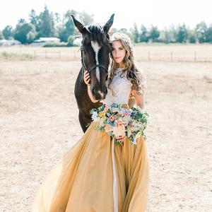 Dreamy Summer Sunshine Bridal Shoot