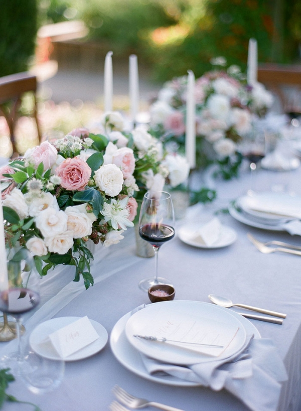 French Garden Inspired Wedding Decor