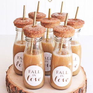 DIY Wedding Favors + Treats for Fall
