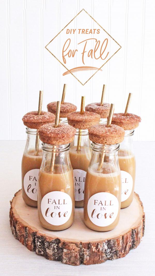 DIY Wedding Favors + Treats for Fall