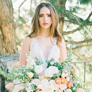 Enchanting Pastel Bridal Shoot in Utah
