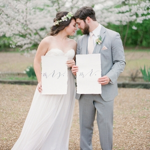 Dreamy Southern Spring Wedding Shoot