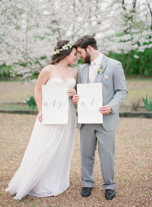 Dreamy Southern Spring Wedding Shoot