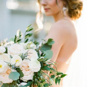 Emerald & Gold Holiday Wedding Inspiration