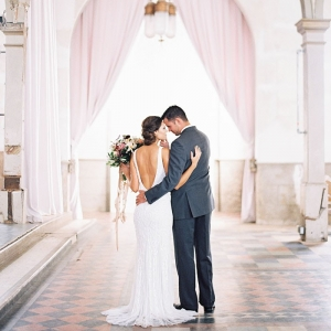 Stunning Bridals with a Low Back Modern Wedding Dress