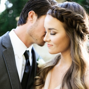 Breathtaking Wedding Portraits in an Autumn Garden