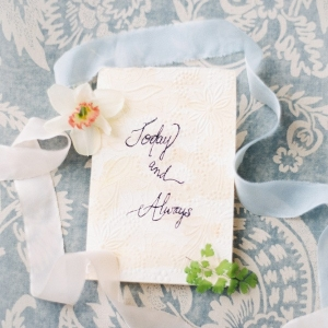 Romantic Calligraphy Wedding Stationery