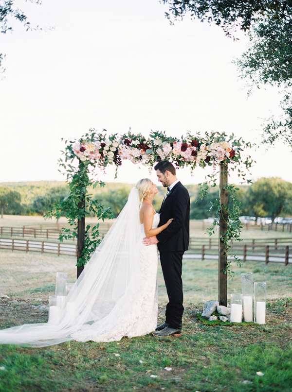 Romantic Ranch Wedding with Vibrant Fall Colors