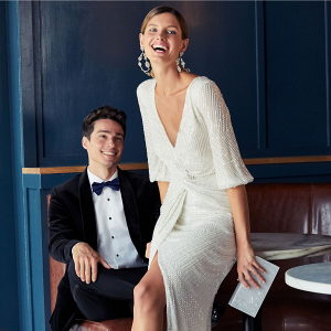 Luxe Winter Engagement Style
