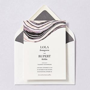 Marble Print Invitations
