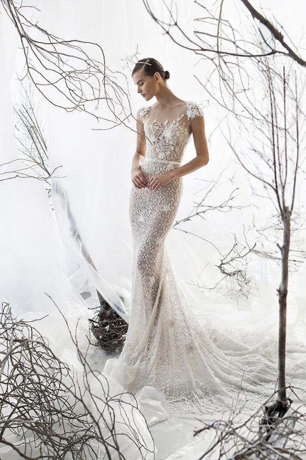 Ethereal Illusion Lace Wedding Dress