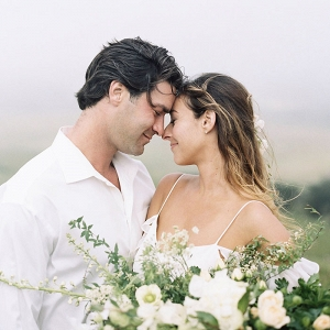 Romantic Rustic Engagement Shoot in the Mist