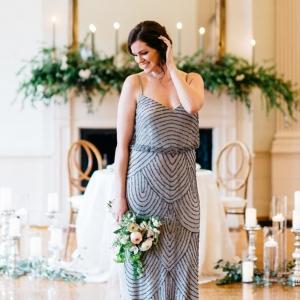 Glamorous Ballroom Wedding Styled Like an Indoor Garden