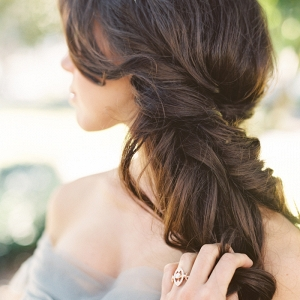Romantic Partial Updo