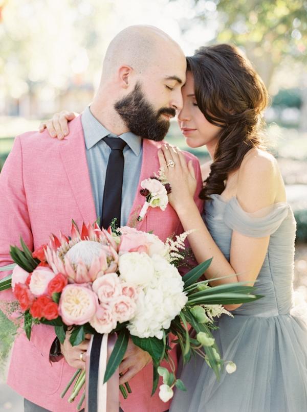 Stylish Southern Wedding with a Modern Preppy Palette