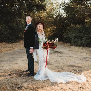 Moody Bohemian Winter Wedding