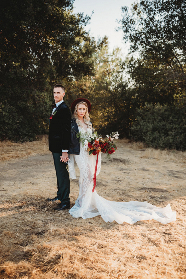 Moody Bohemian Winter Wedding