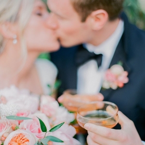 Kisses and Cocktails for a Vintage Garden Wedding