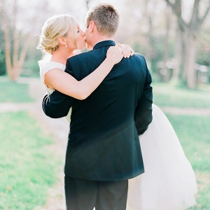 Romantic Wedding Portraits in a Fairy Tale Garden