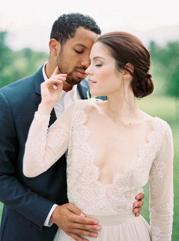 Romantic Southern Wedding Photos on Film