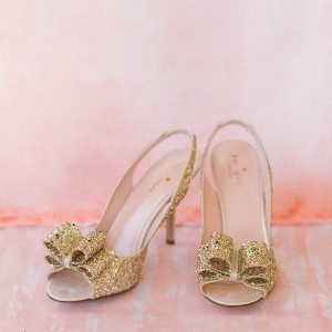 Sparkling Bow Heels