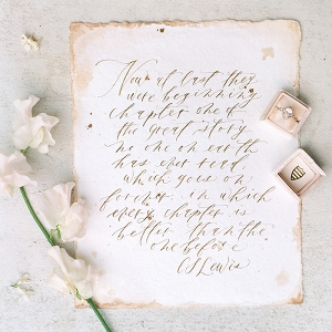 Hand Lettered Love Quotes with Spring Flowers