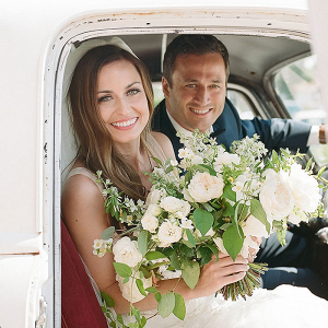 Vintage Truck for a Wedding Getaway Car